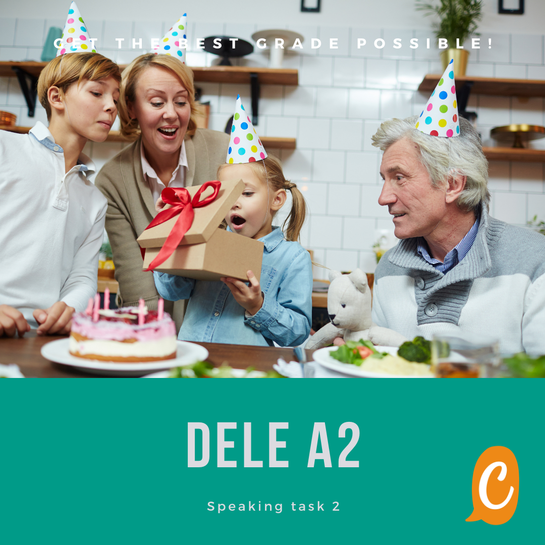 Read more about the article DELE A2 | Speaking task 2
